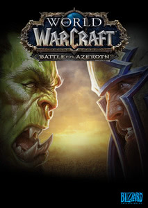 Verpackung von World of WarCraft Battle for Azeroth [PC]