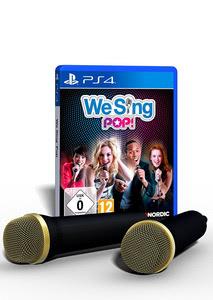 Verpackung von We Sing POP (inkl. 2 Mikrofone) [PS4]