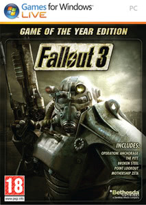 Packaging of Fallout 3 Game of the Year [PC]