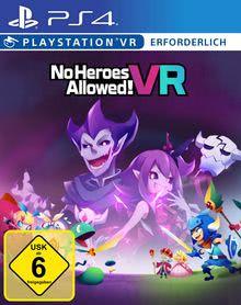 Verpackung von No Heroes Allowed VR - Deutsches PSN-Konto [PS4]