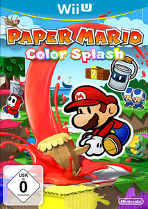 Verpackung von Paper Mario: Color Splash [Wii U]