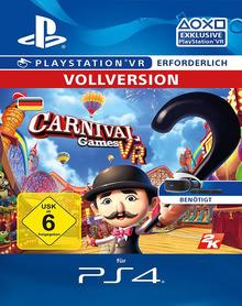 Verpackung von Carnival Games VR - Playstation VR erforderlich [PS4]
