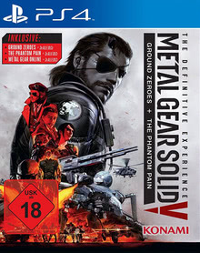 Verpackung von Metal Gear Solid V: The Definitive Edition [PS4]