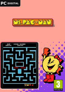 Packaging of Ms. Pac-Man (DLC) [PC]