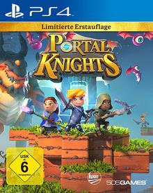 Verpackung von Portal Knights [PS4]
