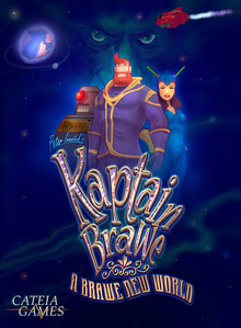 Packaging of Kaptain Brawe: A Brawe New World [PC]