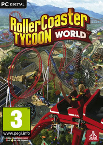 Packaging of RollerCoaster Tycoon World [PC]
