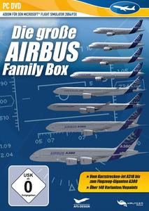 Verpackung von Flight Simulator 2004/FSX Airbus Familiy Box [PC]