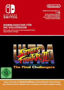 Verpackung von Ultra Street Fighter II: The Final Challengers [Switch]