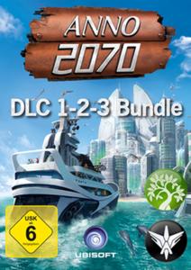 Verpackung von Anno 2070 DLC 1-3 Bundle [PC]