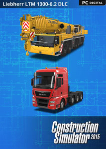 Packaging of Construction Simulator 2015  - DLC 6 - Liebherr LTM 1300 6.2 [PC]