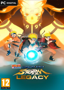 Packaging of Naruto Shippuden: Ultimate Ninja Storm Legacy [PC]