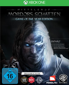 Verpackung von Mittelerde: Mordors Schatten Game of the Year Edition [Xbox One]