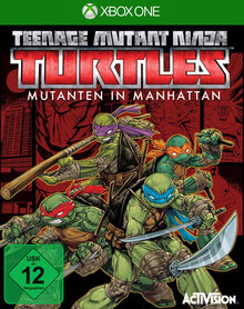 Verpackung von Teenage Mutant Ninja Turtles: Mutants in Manhattan [Xbox One]