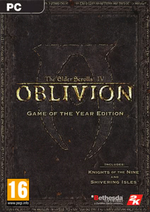 Packaging of The Elder Scrolls IV: Oblivion Game of the Year [PC]