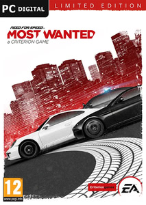 Emballage de Need for Speed: most wanted - édition limitée [PC]