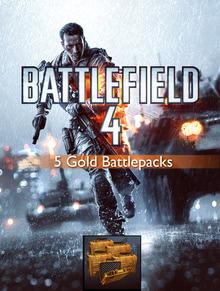 Packaging of Battlefield 4 5 Gold Battlepacks [PC]
