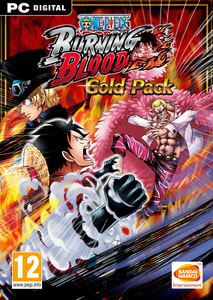 Packaging of One Piece Burning Blood Gold Pack (Season Pass) [PC]