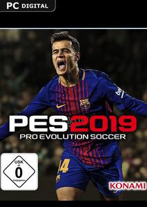 Verpackung von Pro Evolution Soccer 2019 [PC]
