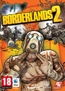 Packaging of Borderlands 2 [Mac]