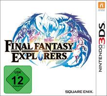 Verpackung von Final Fantasy Explorers [3DS]