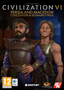 Packaging of Sid Meier's Civilization VI Persia and Macedon Civilization & Scenario Pack [Mac]