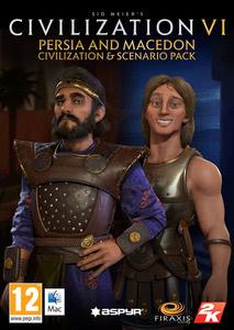 Packaging of Sid Meier's Civilization VI Persia and Macedon Civilization & Scenario Pack [Mac]