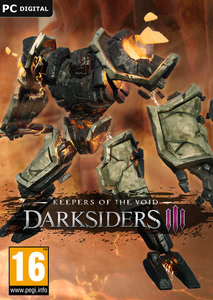 Packaging of Darksiders III Keepers of the Void [PC]