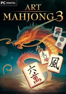 Packaging of Art Mahjongg 3 [PC]