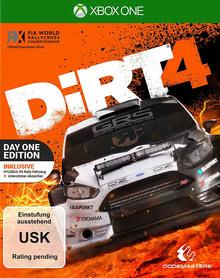 Verpackung von DiRT 4 Day One Edition [Xbox One]