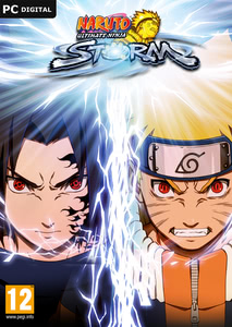 Packaging of Naruto Shippuden Ultimate Ninja STORM 1 HD [PC]
