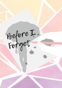 Verpackung von Before I Forget [PC / Mac]