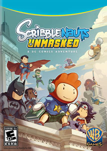 Packaging of Scribblenauts Unmasked: A DC Comics Adventure [PC]