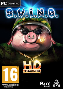 Packaging of S.W.I.N.E. HD Remaster [PC]