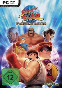 Verpackung von Street Fighter Anniversary Collection [PC]