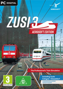 Packaging of ZUSI 3 - Aerosoft Edition [PC]