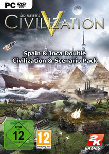 Verpackung von Sid Meier's Civilization V Double Civilization and Scenario Pack Inca and Spain DLC [PC]
