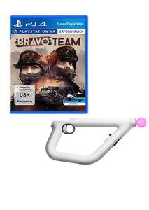 Verpackung von Bravo Team (VR only) + AIM Controller [PS4]