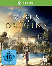 Verpackung von Assassin's Creed Origins [Xbox One]
