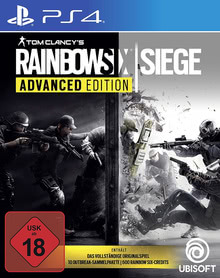 Verpackung von Tom Clancy's Rainbow Six Advanced Edition [PS4]