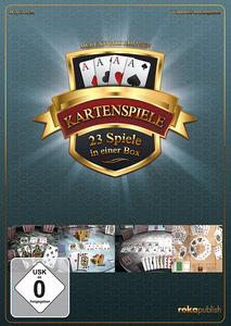 Verpackung von Kartenspiele 23 in 1 Deluxe Box Edition [PC]
