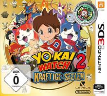 Verpackung von YO-KAI WATCH 2: Kräftige Seelen inkl. Medaille [3DS]