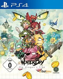 Verpackung von Wonder Boy: The Dragon's Trap [PS4]