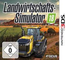 Verpackung von Landwirtschafts-Simulator 18 [3DS]