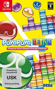 Verpackung von Puyo Puyo Tetris [Switch]