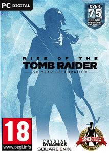 Packaging of Rise of the Tomb Raider 20 Year Celebration D1 Edition [PC]