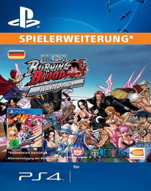 Verpackung von One Piece Burning Blood WANTED PACK [PS4]
