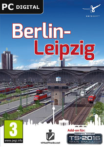 Packaging of Train Simulator Berlin-Leipzig [PC]