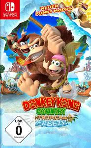 Verpackung von Donkey Kong Country Tropical Freeze [Switch]
