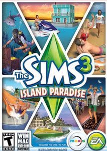 Packaging of The Sims 3 Island Paradise [Mac]